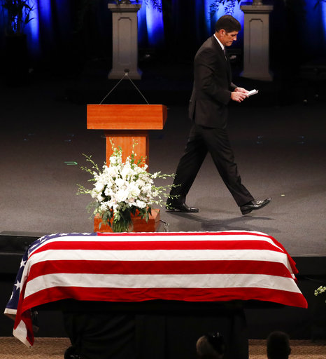 Andrew Mccain: His Way: Washington To Say Goodbye To Late Sen. John
