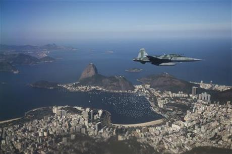 Brazil OLY Air Force Demonstration