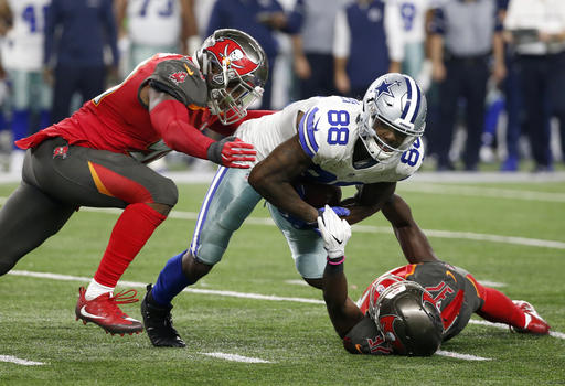 Dez Bryant, Kwon Alexander, Keith Tandy
