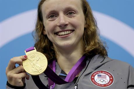 Ledecky No 1500 Swimming