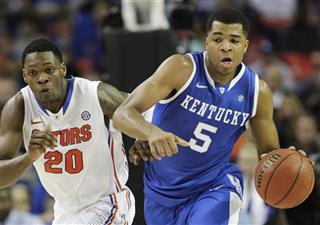 SEC Kentucky Florida Basketball