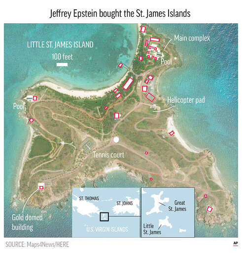 Caribbean Islands: On Caribbean Island Whispers, Suspicion About Epstein