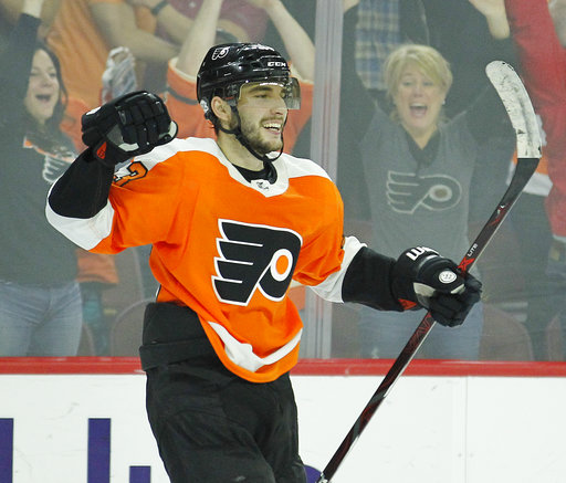separation shoes 239dd 73330 Voracek's 2 late goals rally Flyers past Canadiens in O ...