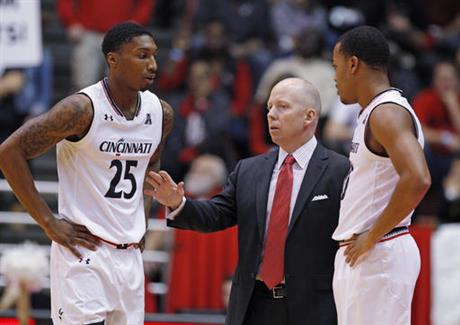 Mick Cronin, Kevin Johnson, Troy Caupain