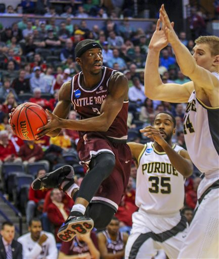 NCAA UALR Purdue Basketball