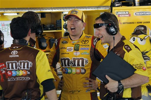 Kyle Busch, Dave Rogers