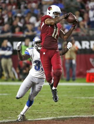 Larry Fitzgerald, Mohammed Seisay