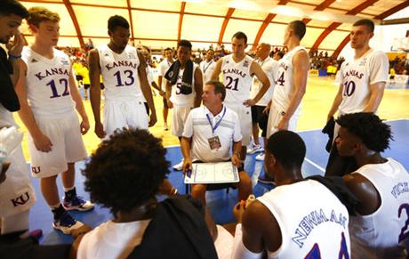 Italy Basketball University of Kansas