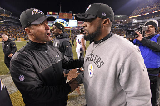 Mike Tomlin, John Harbaugh