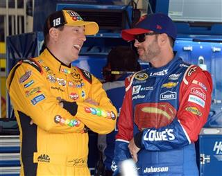 Kyle Busch, Jimmie Johnson