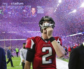Falcons Patriots Football