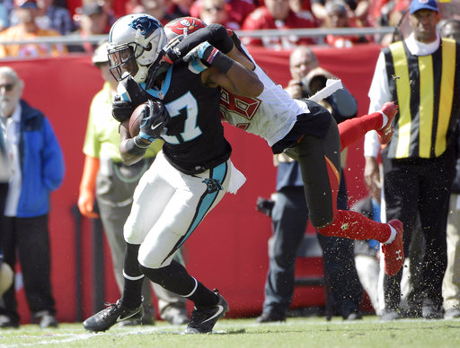 Panthers-Funchess' Time Football