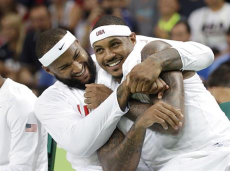 DeMarcus Cousins, Carmelo Anthony