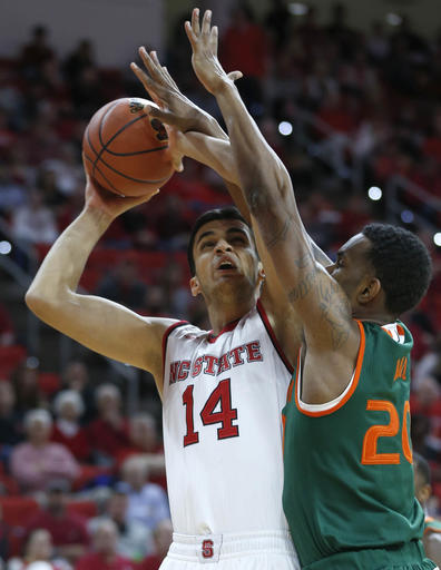 Miami NC State Basketball