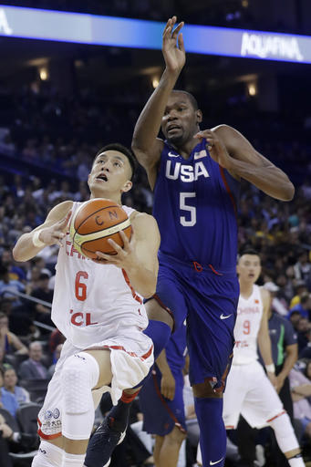 Guo Ailun, Kevin Durant