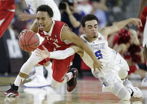 APTOPIX NCAA Duke Utah Basketball