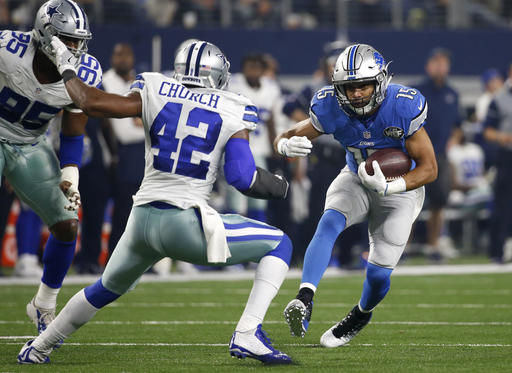 Golden Tate, Barry Church, Ronald Leary