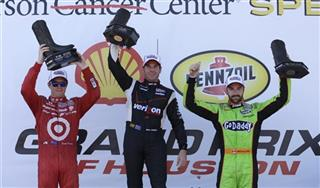 Will Power, Scott Dixon, James Hinchcliffe