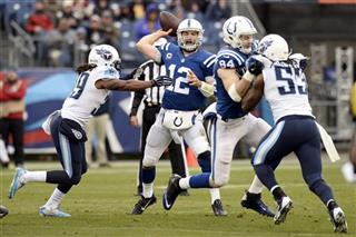 Andrew Luck, Daimion Stafford, Quentin Groves
