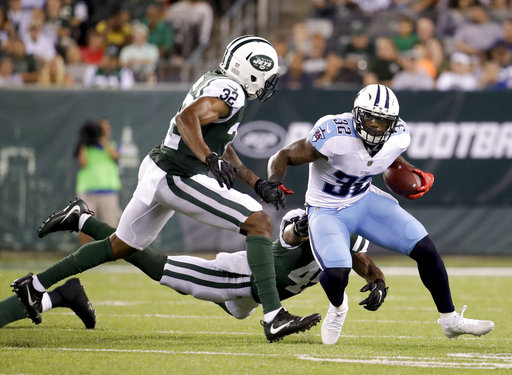 Titans Jets Football