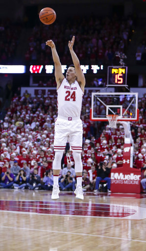 Wisconsin Back on Track Basketball