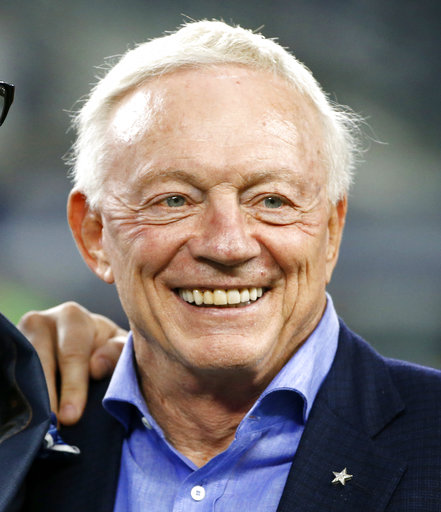 Jerry Jones, Michael Irvin