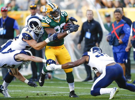 Rams Packers Football