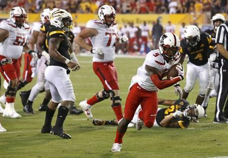 Texas Tech Arizona St Football
