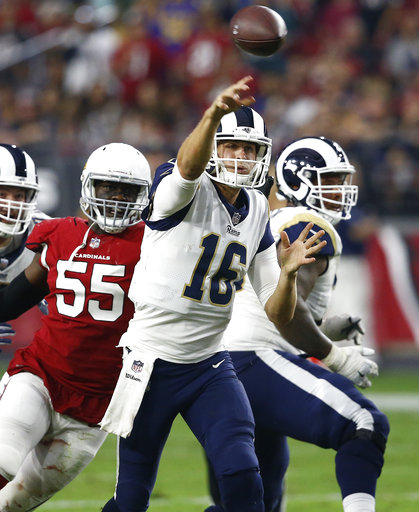 Rams Cardinals Football