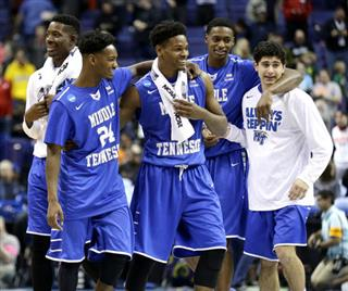 NCAA Middle Tennessee Michigan St Basketball