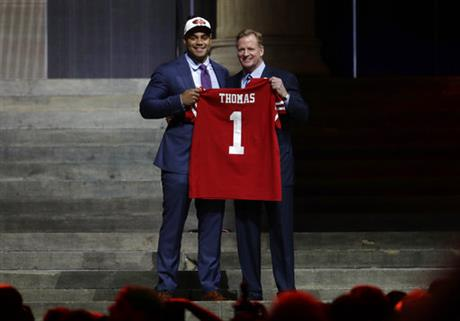 Solomon Thomas, Roger Goodell
