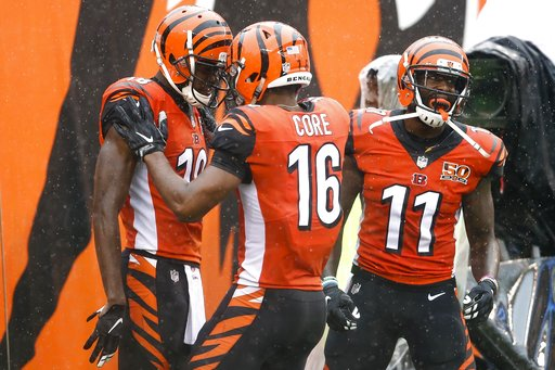 A.J. Green, Cody Core, Brandon LaFell