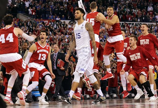 APTOPIX NCAA Kentucky Wisconsin Final Four Basketball
