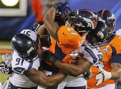 Knowshon Moreno, Chris Clemons, Cliff Avril
