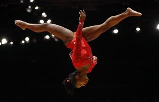 Biles Returns Gymnastics