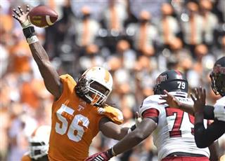 Tennessee Pass Rushing Tandem Football