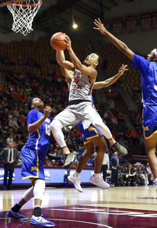 Morehead St Virginia Tech Basketball