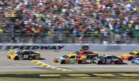Matt Kenseth, Kyle Busch, Martin Truex Jr., Carl Edwards