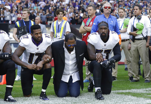 Mike Wallace, Ray Lewis, C.J. Mosley