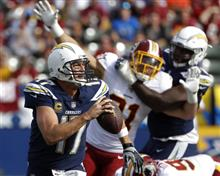 Redskins Chargers Football