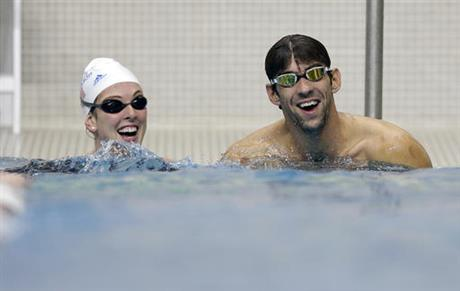 Michael Phelps, Allison Schmitt