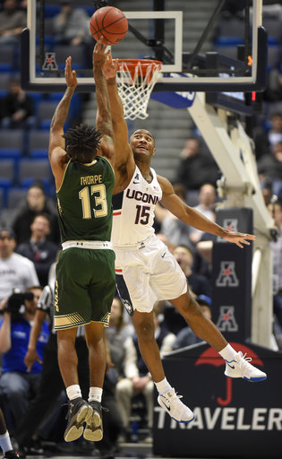 South Florida UConn Basketball