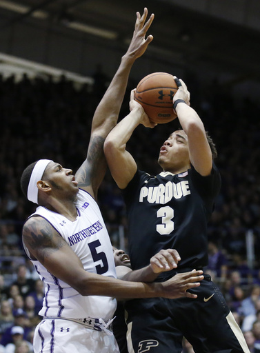 Carsen Edwards, Dererk Pardon