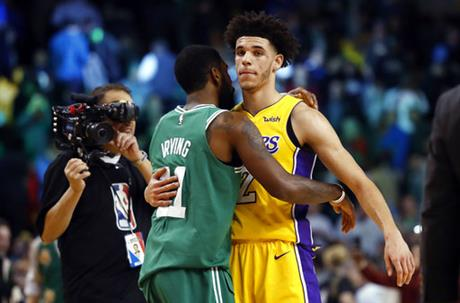 Kyrie Irving, Lonzo Ball