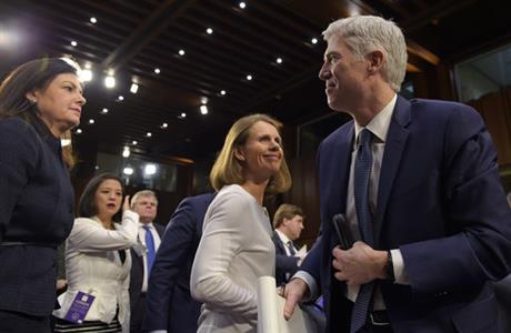 Neil Gorsuch, Kelly Ayotte, Marie Louise Gorsuch