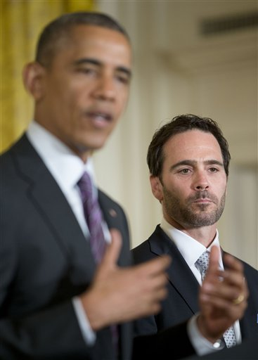 Barack Obama, Jimmie Johnson,