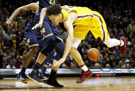 Michigan Minnesota Basketball