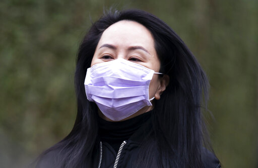 Huawei daughter back in Canada court in US extradition...