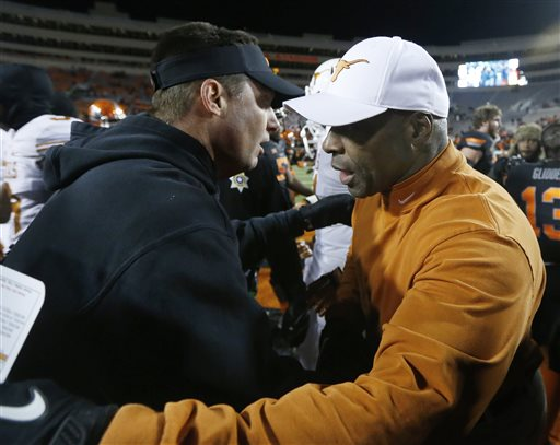 Mike Gundy, Charlie Strong