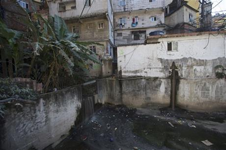 Brazil Rio 2016 Filthy Waters Slums